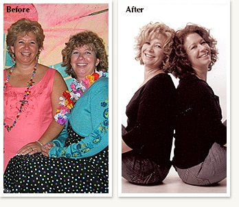 Karen and Kathy: Combined Weight Loss 90 lbs